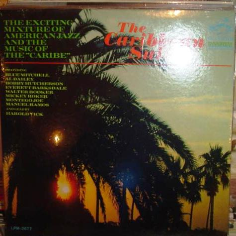 Harold Vick - The Caribbean Suite - RCA Mono - Sealed 1967